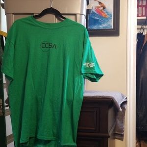 Mens size L 2013 CCSA surfing   contest shirt